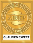 AIREP qualified expert logo